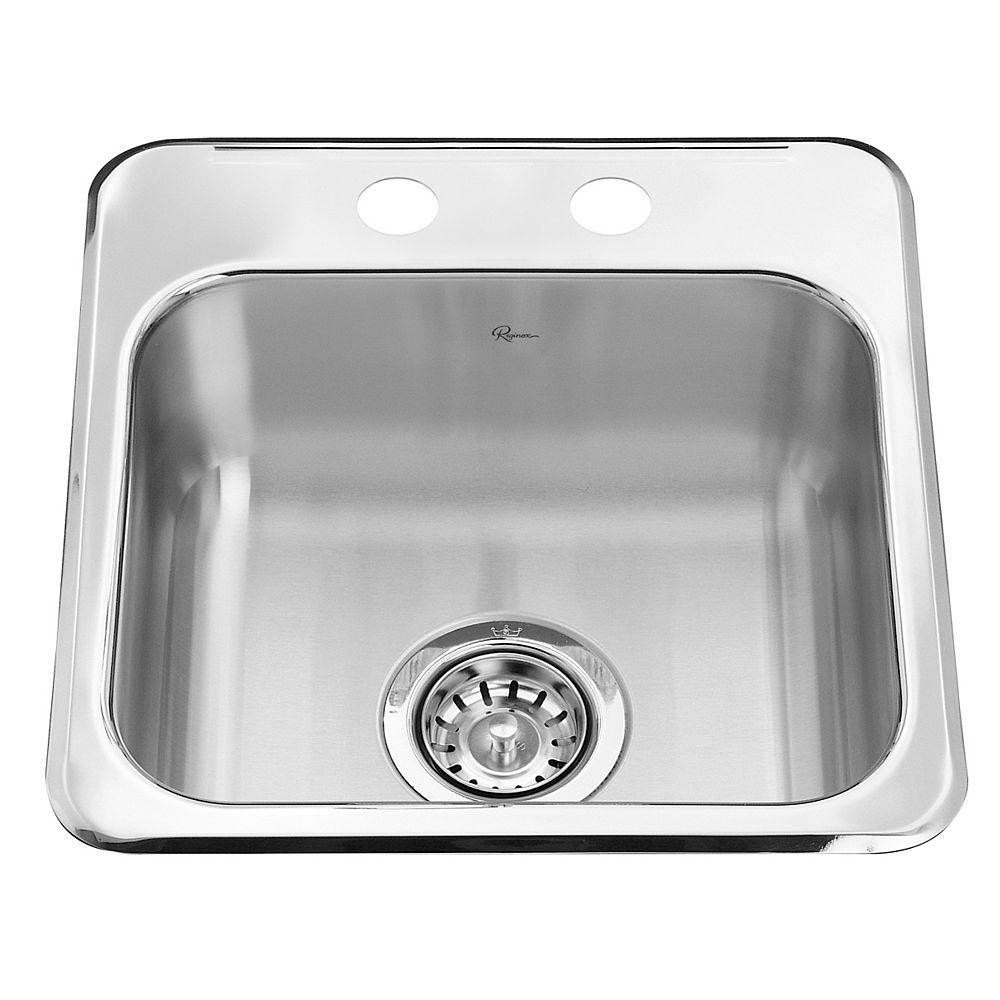 Kindred Top Mount Single Bowl Sinks