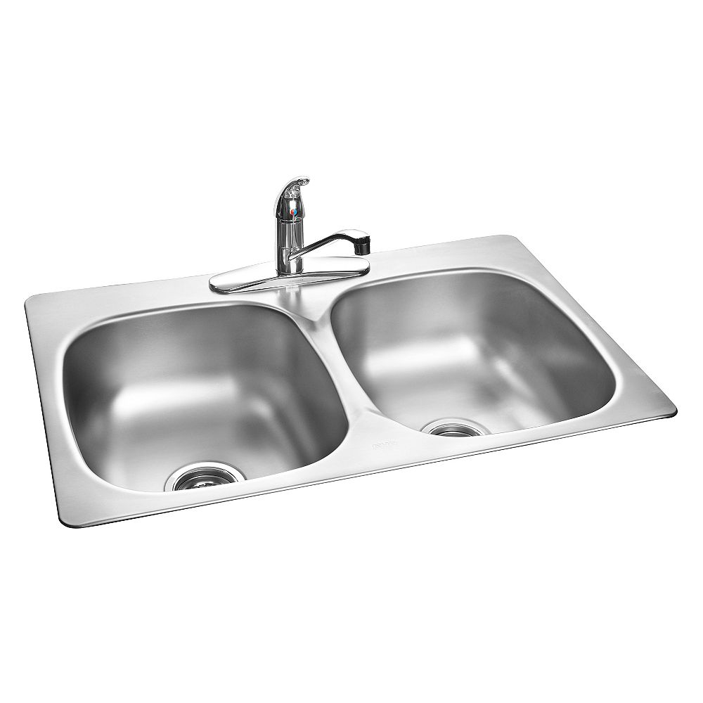 Kindred Stainless Steel Double Kitchen Sink
