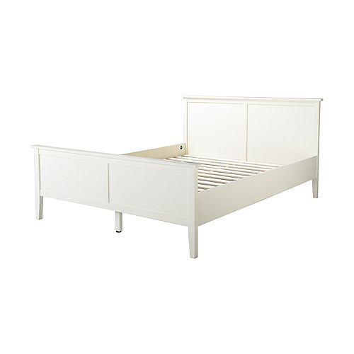 Dellys Collection Double Bed Frame In White