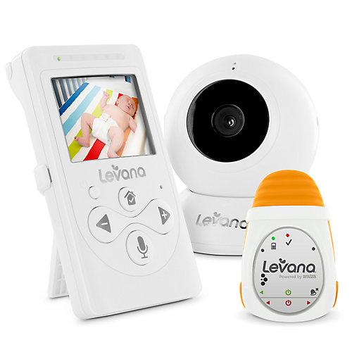 LEVANA Lila Moniteur vidéo bébé numérique avec LEVANA alimenté par Snuza Oma Moniteur de mouvement bébé mobile