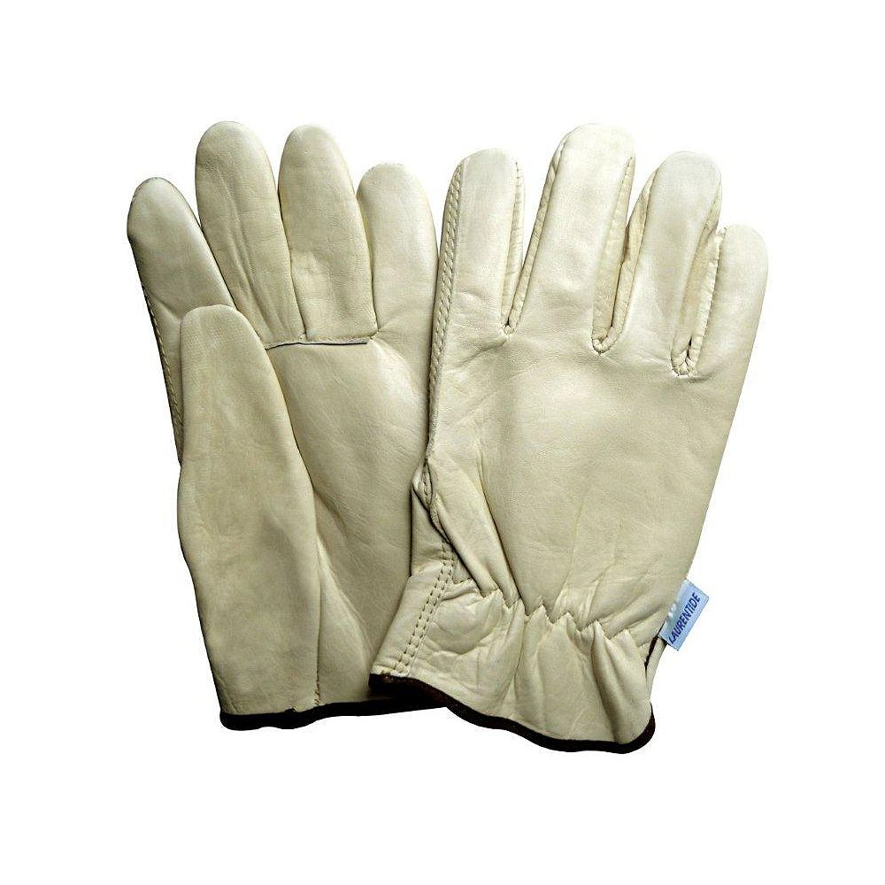 Laurentide Cowhide Leather Drivers Style Work Glove - Size M