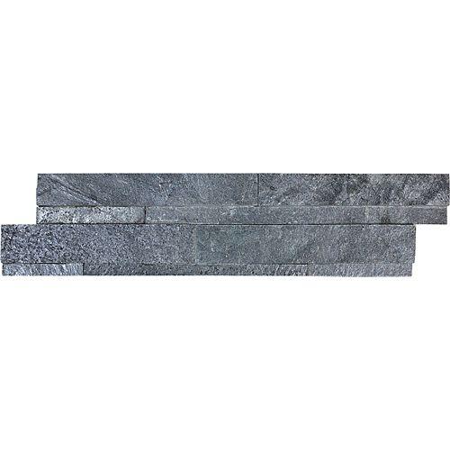 Astro Silver Ledgerstone 6-inch x 24-inch Strip Tile
