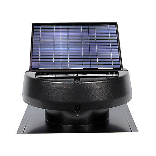20 Watt Solar Attic Fan Ventilates up to 2400 Sq. ft.