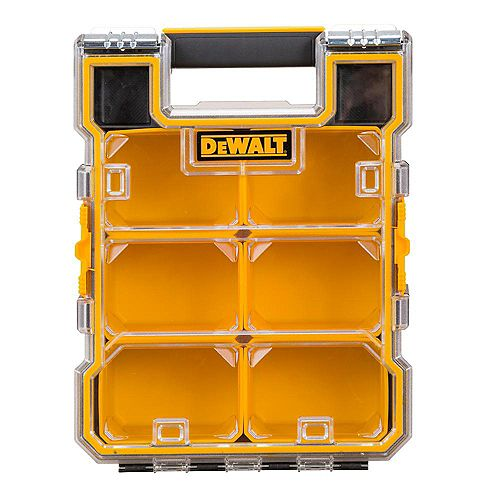 DEWALT 8-Compartment Mid-Size Pro Small Parts Organizer