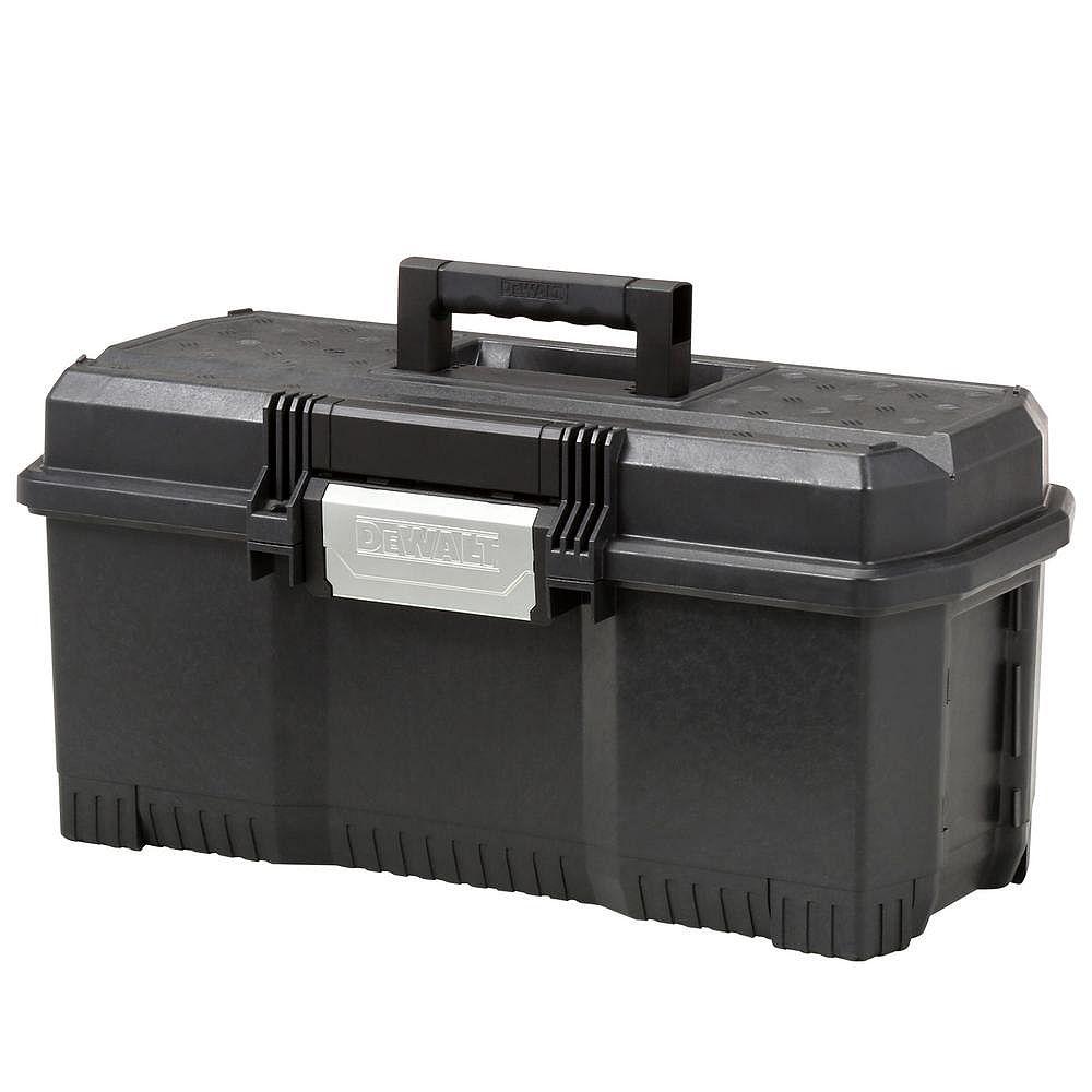 DEWALT 24-inch 1-Touch Latch Tool Box