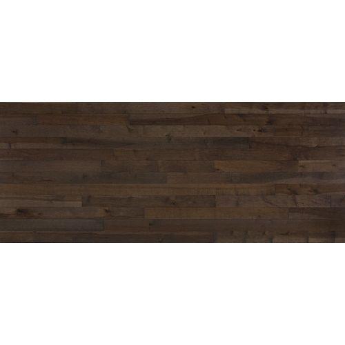 Dubeau Plancher, bois massif, 3/4 po x 3 1/4 po, Érable City gris, 20 pi2/boîte