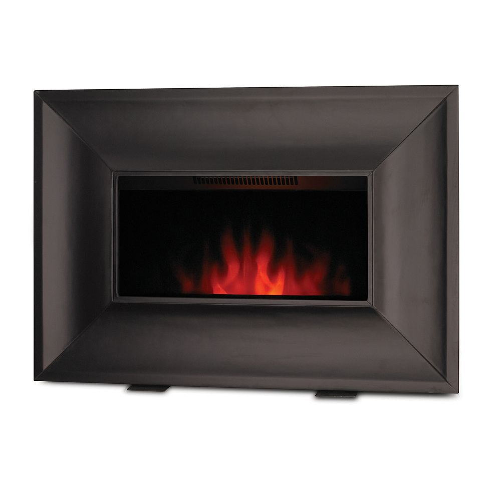 Bionaire Electric Fireplace Heater with Wood Face
