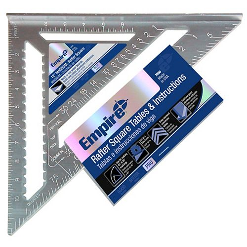 Empire 12 in. Hvy Duty Steel Rafter Sq