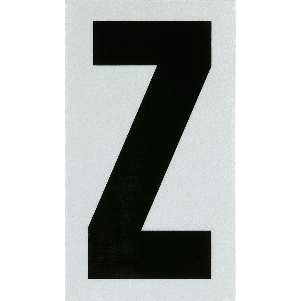Hillman 3 Inch Black & Silver Reflec Mylar Z