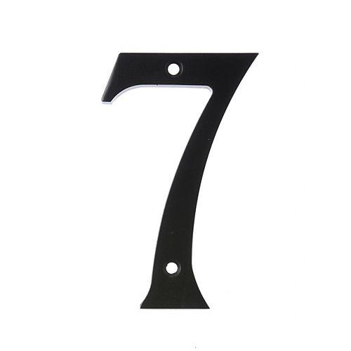 Hillman Numéro D'adresse 6 Po, Fini Noir, 7