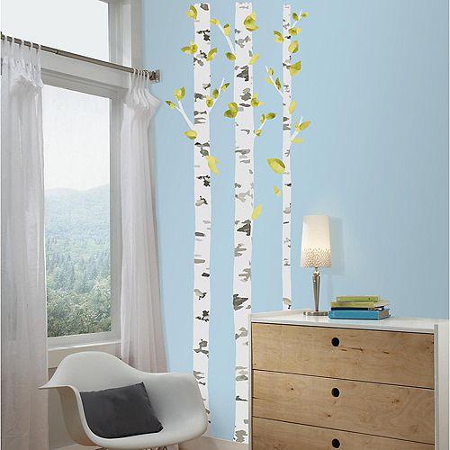 RoomMates Stickers Muraux Birch Trees