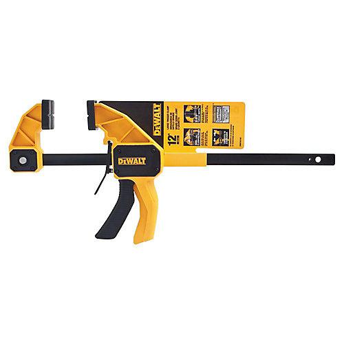 12-inch 300 lb. Trigger Clamp w/3.75-inch Throat Depth