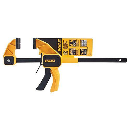 DEWALT 12-inch 300 lb. Trigger Clamp w/3.75-inch Throat Depth