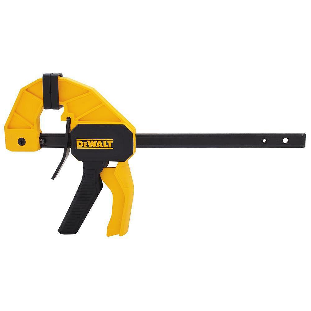 DEWALT 6-inch 100 lbs. Trigger Clamp with 2.43-inch Throat Depth