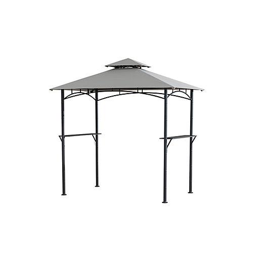 Abri pour barbecue style tiki Hampton Bay, 8 x 5 pieds