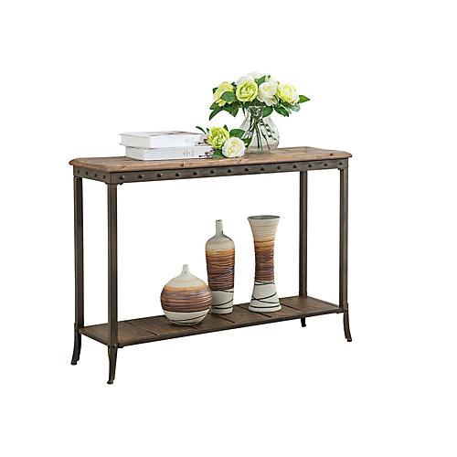 Trenton-Rec. Console Table-Distressed Pine