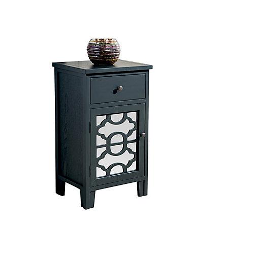 Bristol-cabinet à 1 tiroir-noir