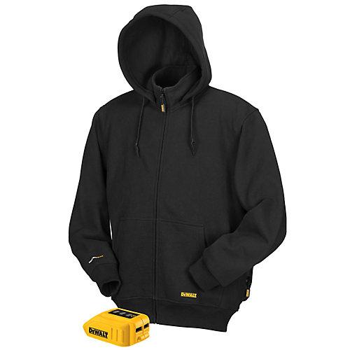 Black Heated Hoodie (L)
