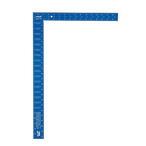 Équerre en aluminium TRUE BLUE de 40,6 cm x 61 cm (16 po x 24 po)