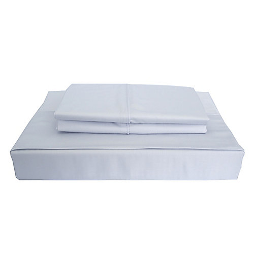 310TC Bamboo Solid Sheet Set, Blue, Queen