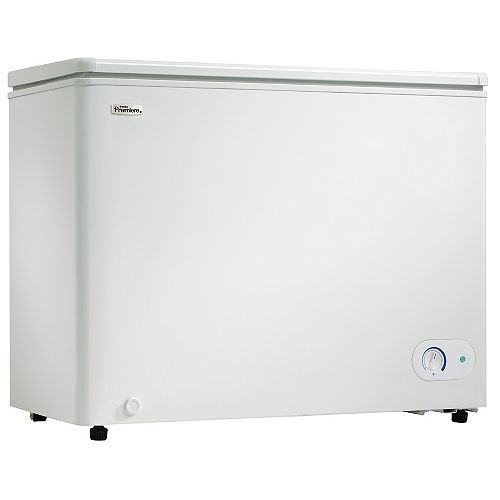 Danby Premiere 7.2 cu. ft. Manual Defrost Chest Freezer in White