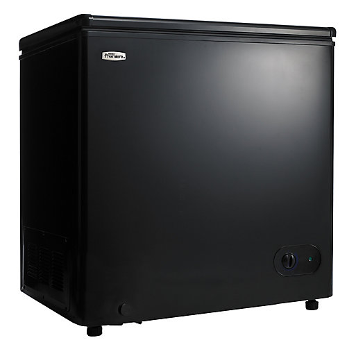 5.5 cu. ft. Manual Defrost Chest Freezer in Black