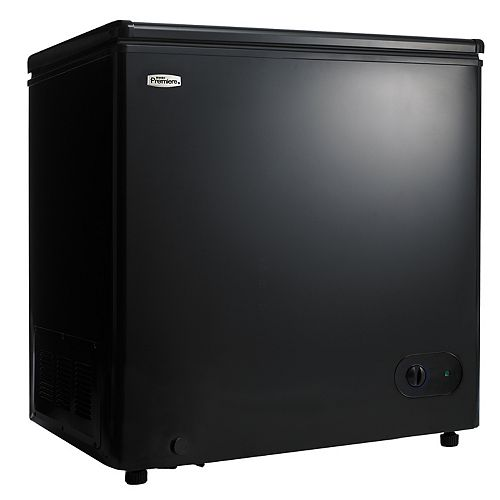 Danby Premiere 5.5 cu. ft. Manual Defrost Chest Freezer in Black