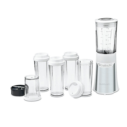 15-Piece Compact Portable Blending/Chopping System - White