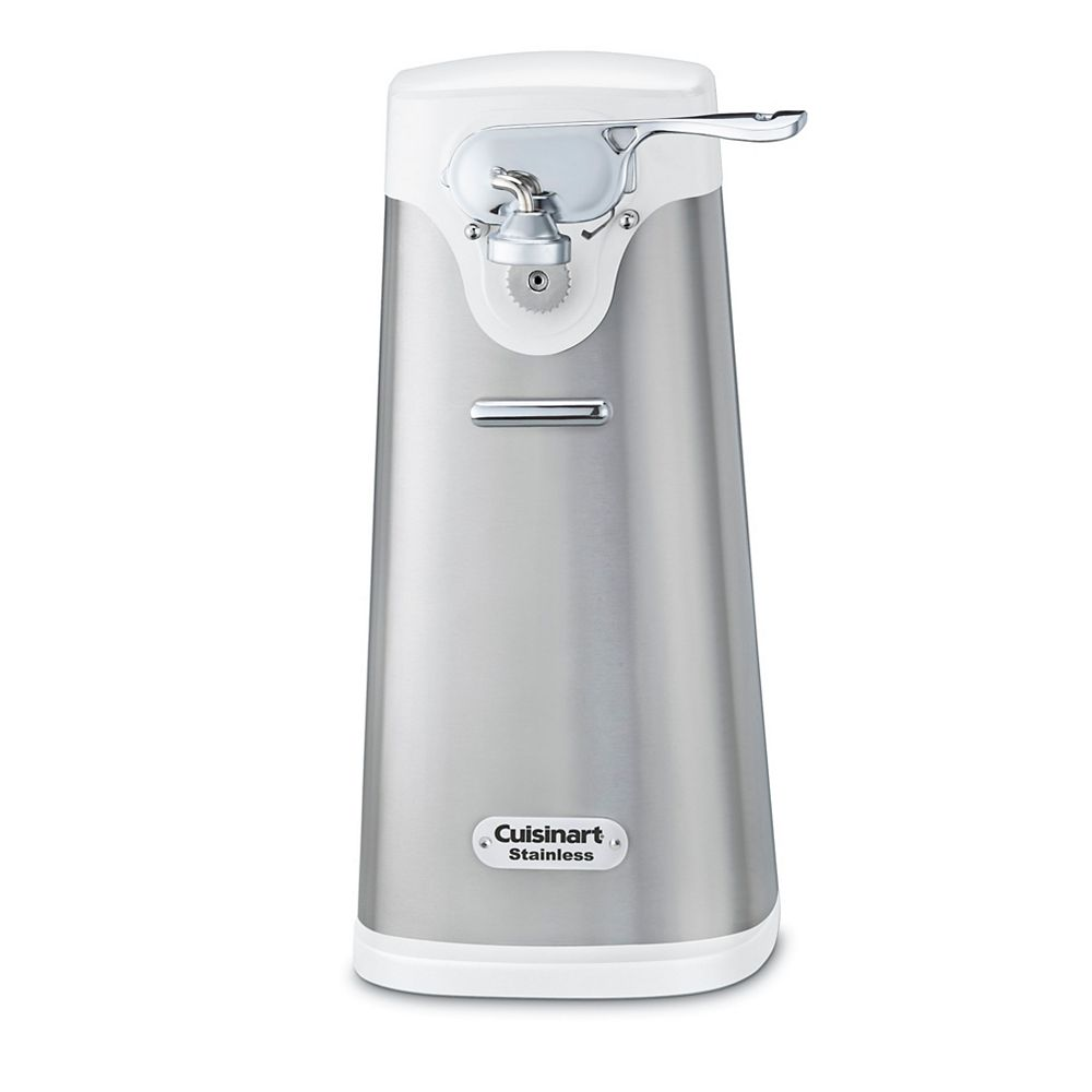 Cuisinart Deluxe Stainless Can Opener- White