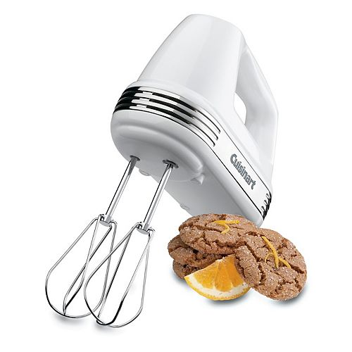 Power Advantage 5-Speed Hand Mixer -White