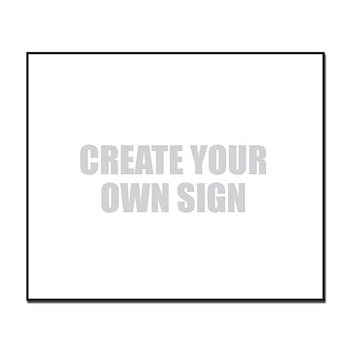 19 X 24 Jumbo Sign - Blank