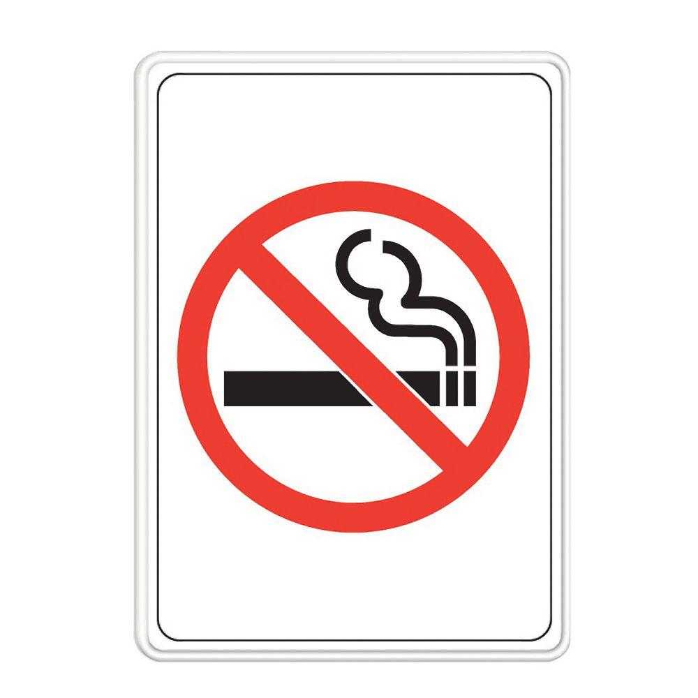 """Hillman Affiche """"Ne Pas Fumer"""" 5 X 7 Po"""