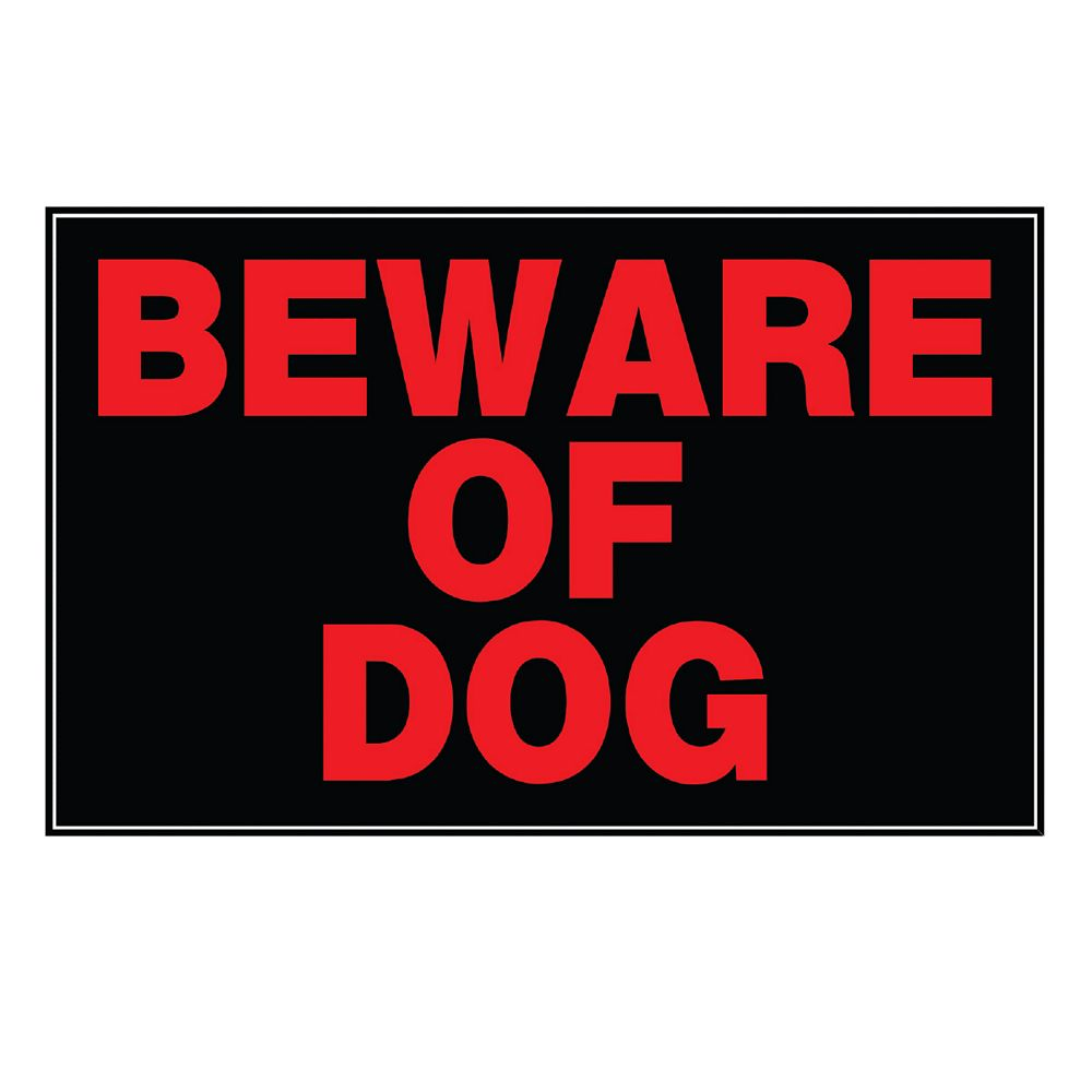 Hillman Affiche 8 X 12 - Beware Of Dog
