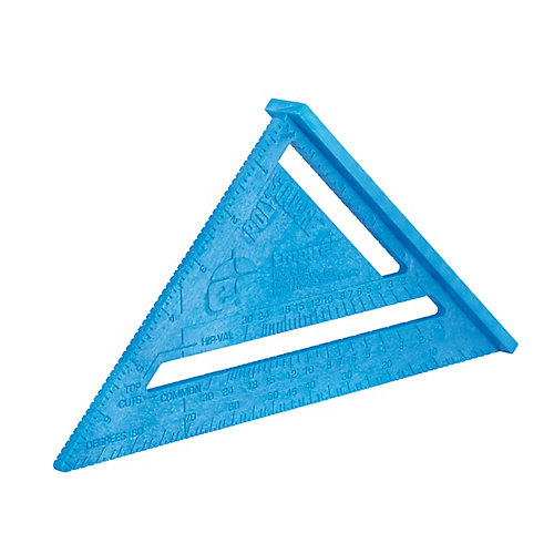 Équerre Triangulaire En Plastique 7 Po ¼