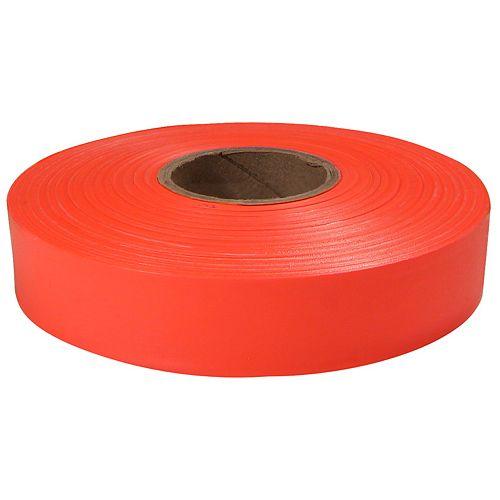 600' Orange Flagging Tape