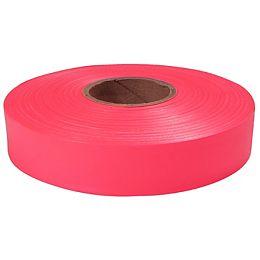 600' Pink Flagging Tape