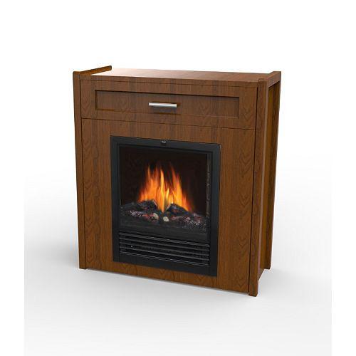 Samsa Compact Electric Fireplace