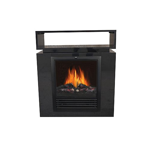 Loti Compact Electric Fireplace