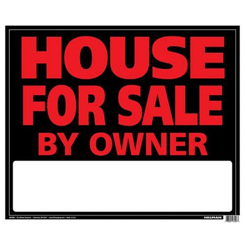 19 X 24 Jumbo Sign - House For Sale