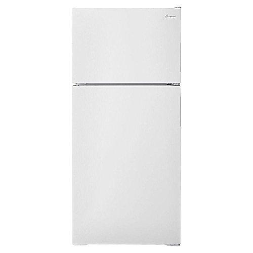 28-inch W 16 cu. ft. Top Freezer Refrigerator in White