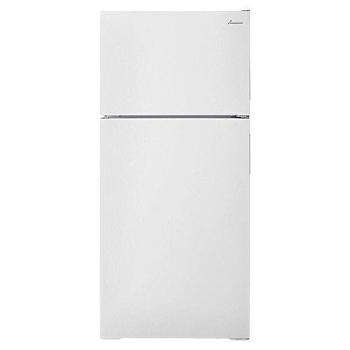28-inch W 16 cu. ft. Top Freezer Refrigerator in White