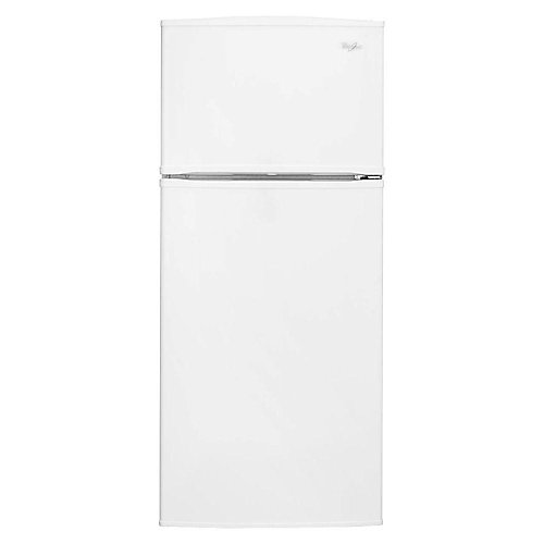 Réfrigérateur supérieur de 28 po W 16 pi3 en blanc pour congélateur