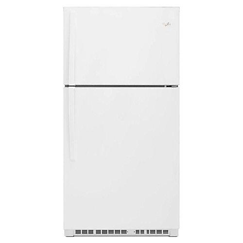 33-inch W 21.3 cu. ft. Top Freezer Refrigerator in White - ENERGY STAR®