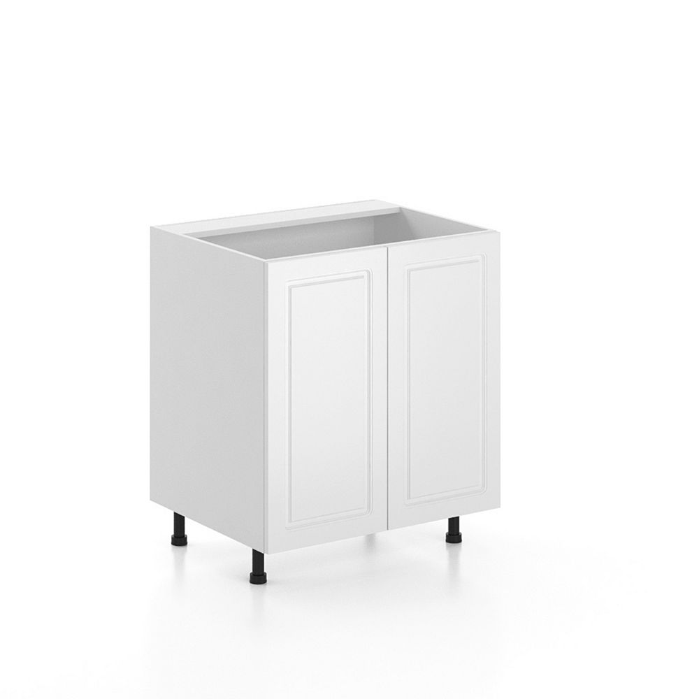 Eurostyle 30 Inch Sink Base Cabinet 2 Doors Assembled Lausanne The Home Depot Canada