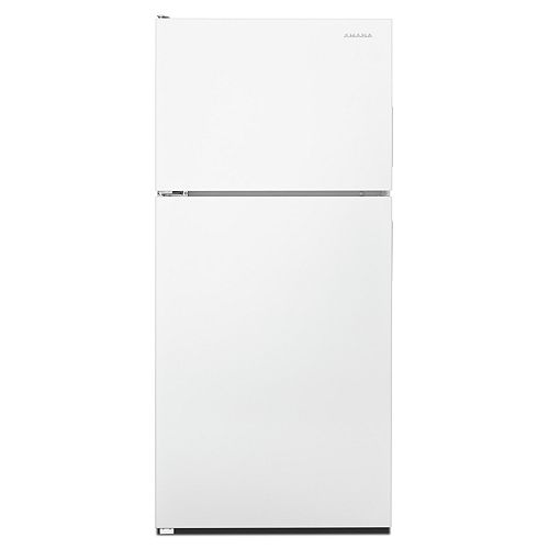 Amana 30-inch W 18 cu.ft. Top Freezer Refrigerator in White