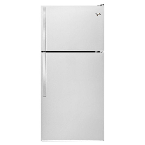 30-inch W 18.2 cu.ft Top Freezer Refrigerator in Stainless Steel