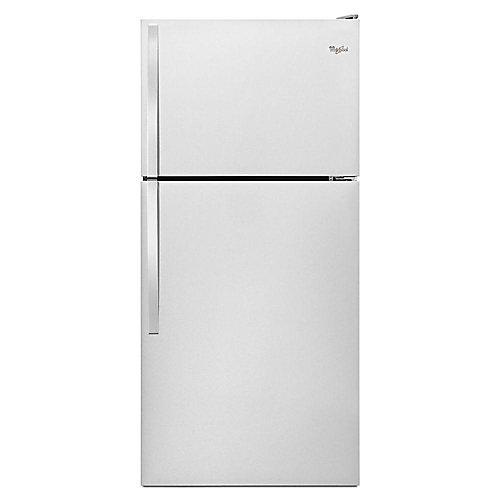 30-inch W 18.3 cu. ft. Top Freezer Refrigerator in Monochromatic Stainless Steel - ENERGY STAR®