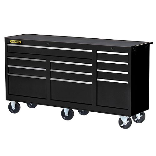 73-inch 11-Drawer Cabinet in Black