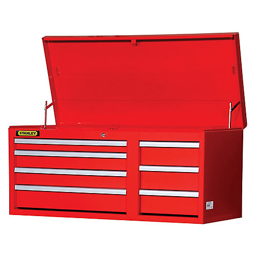 42-inch 7-Drawer Chest in Red