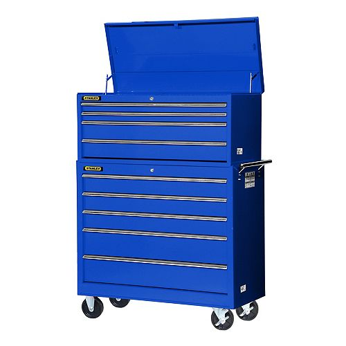 42-inch 4-Drawer Top Chest in Blue